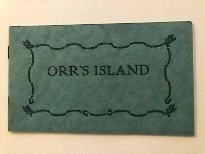 Vintage Booklet Photos & Poem, Orr's Island, Maine