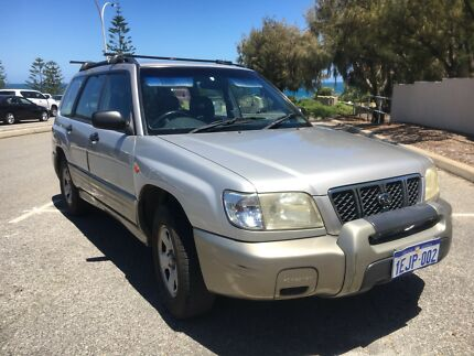 Dual Fuel (Petrol and LPG) 2000 Subaru Forester
