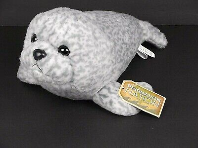 Harbor Seal Plush Destination Nation by Aurora Stuffed Animal Sea Life Ocean (National Harbor Kids)