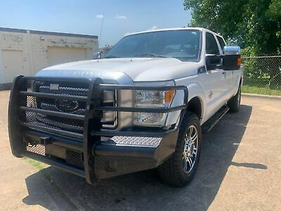 2015 FORD F250 Platinum Crew Cab Long Bed DIESEL 4x4-ONE OWNER-PERFECT CARFAX