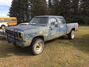 CREW CAB FIRST GEN for trade or cash