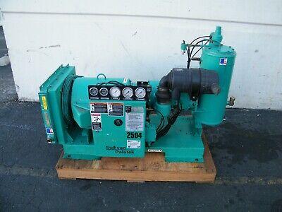 Sullivan Palatek 25d4 25 Hp Rotary Screw Air Compressor Ingersoll Rand Kaeser