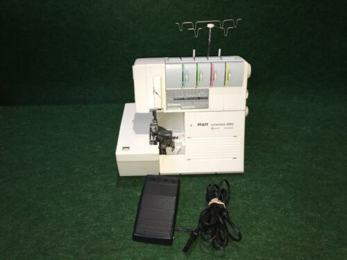 PFAFF Coverlock 4862 Serger Sewing Machine, and Foot Controller