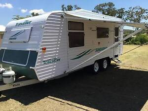 2005 Traveller Semi Off Road Caravan  Gladstone 4680 West Stowe Gladstone Surrounds Preview