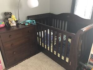Boori royal sleigh cot and chest of draws Werrington Penrith Area Preview