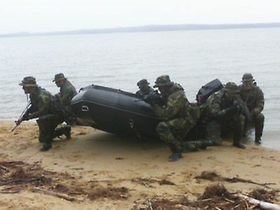 ZODIAC Futura Commando FC 470 Slatt Military Commercial Inflatable Work Boat Rib