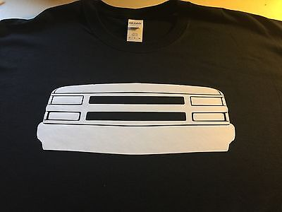 shirt Chevy Truck Silverado front end 90 91 92 93 94 95 96 97 98 99 Tahoe 4x4 (Truck Front End)