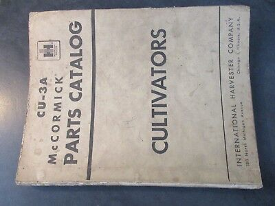 Farmall Ih Cultivators Parts Catalog