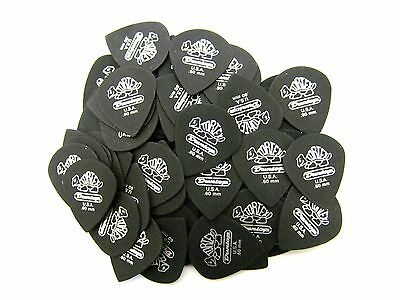 Dunlop Guitar Picks  Tortex Pitch Black Jazz  72 Pack  .60mm 482R.60