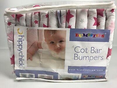 Hippychick BUMPASS Bumpster Stoßfänger für Gitterbettchen Nestchen E4-Y6