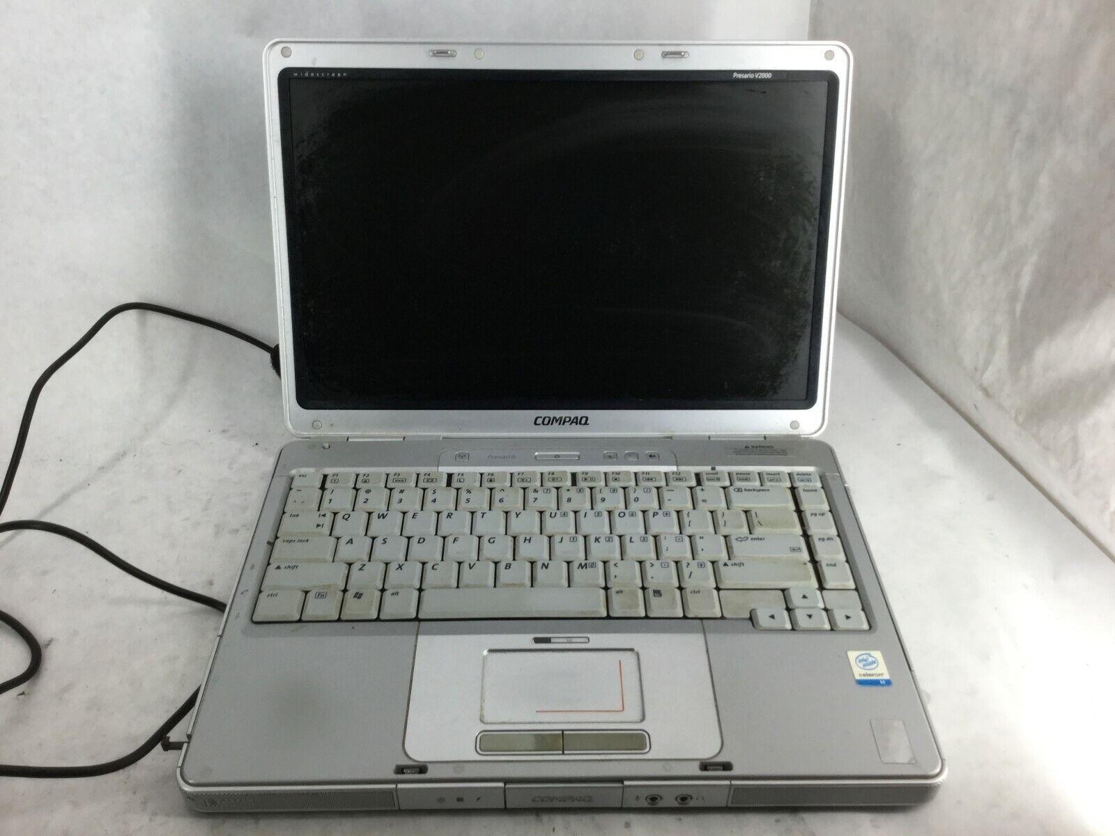 Compaq Presario v2000 Intel Pentium M CPU Laptop *POWER DEAD* -CZ