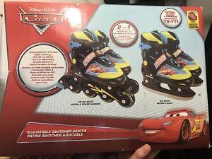 Cars 2in1 Skates Roller Blades
