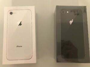 Selling unlocked BNIB Sealed iPhone 8 64GB (SG and Silver)