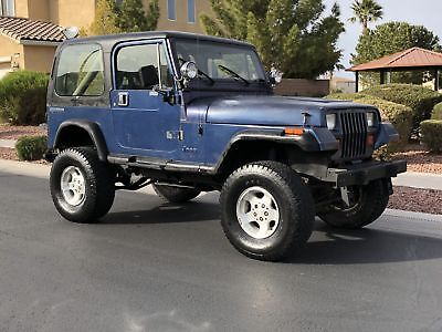 1990 Jeep Wrangler 4X4 Yj 4X4 Jeep Wrangler Lifted Off Roading Over 50  Photos And A Video Uploaded
