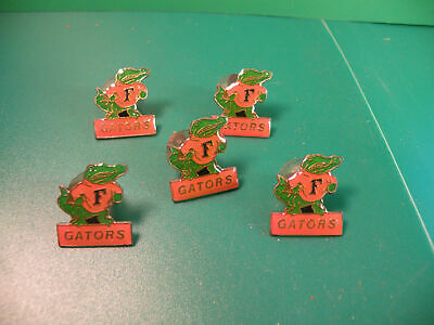 University of Florida Gators UF collector pin hat lapel jersey  lot of 5