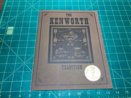 Vintage , 1973 ,The Kenworth Tradition 50 years, Brochure, Original