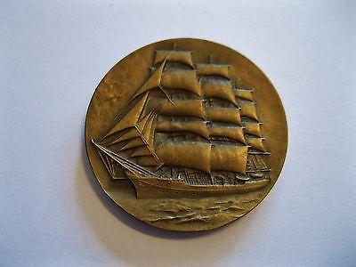 "Medaille  Polen  ""Schiff""  Centralne Muzeum Morskie Dar Pomorza  -"