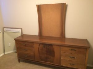 Furniture Bedroom Suite Vintage Midcentury OBO