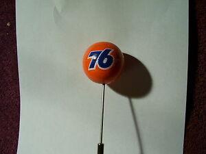 VINTAGE-CONOCO-UNION-76-BALL-ANTENNA-TOPPER-VINTAGE-40s-50s-STYLE-AUTO-ACCESSORY