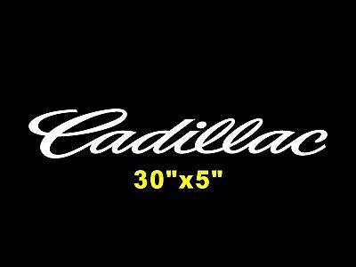 Cadillac Window Windshield Banner Decal CTS Graphic Window Sticker Cadillac ATS