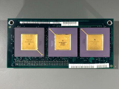 Data General AViiON CPU Board - Motorola MC88100RC25 16-bit RISC Microprocessor