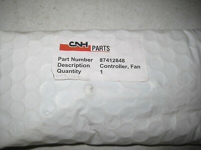 New Cnh Case Controller Board For Fan Part 87412848