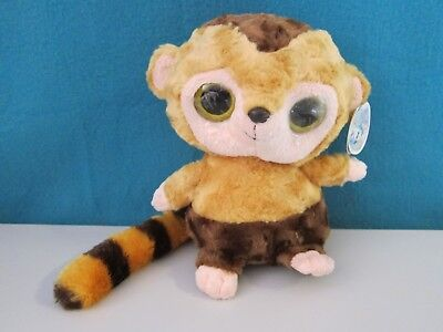 Lemur Stofftier (Stofftier / Kuscheltier / Glubschi Lemur von Yoohoo&Friends / NEU)