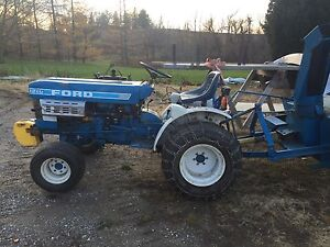 Ford 1210 compact tractor