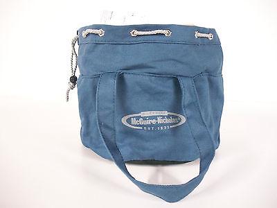 Blue Mcguire Nicholas Canvas Parachute Bag 6-compartment Parts Organizer Handles
