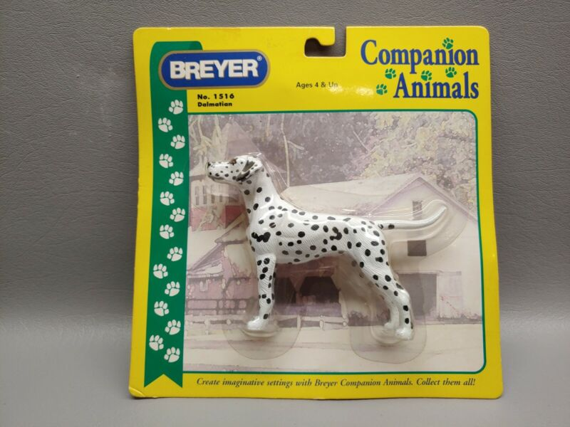 Breyer Dalmation dog companion animal NIP 1516
