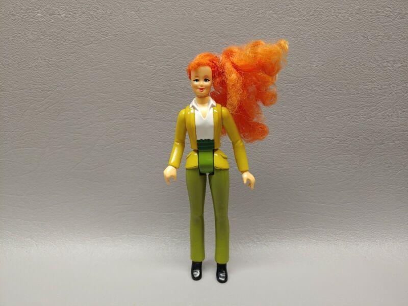 Vintage Ghostbusters action figure Schaper Filmation Jessica