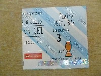Org* Tickets- Copa America Argentina 2011- URUGUAY v CHILE, 8 July