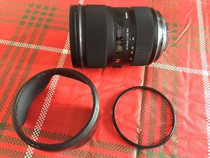 Objectif Sigma 24-35 mm f2 pour Nikon