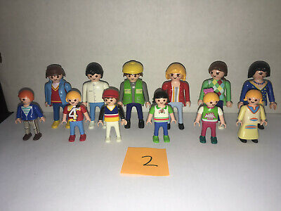 Playmobil set of 12 RANDOM KLICKIES 3 MEN 3 WOMEN 3 BOYS 3 GIRLS (LOT 2)  for sale  Powell