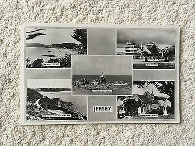 Postcard of vintage Jersey from 1960's