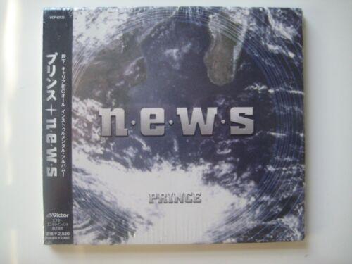 Prince NEWS N.E.W.S. CD japan Japanese Brand New Sealed