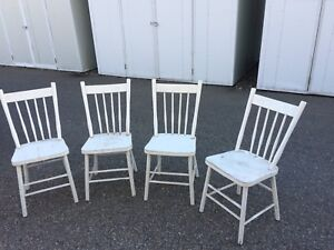 Antique table and  chairs Vintage