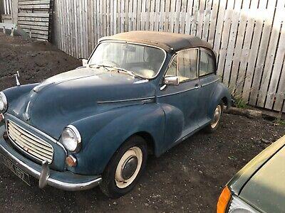 Morris Minor Convertible 1960