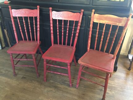 Vintage spindle back chairs - Vintage Chairs. Dining Chairs Gumtree Australia Brisbane North
