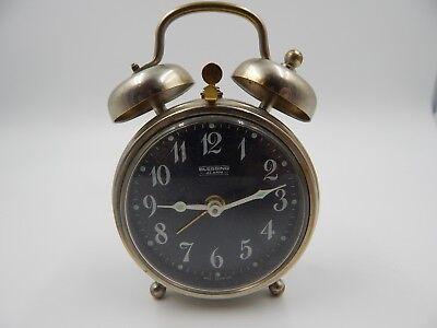 Vintage Blessing Miniature Alarm Clock West Germany Mini