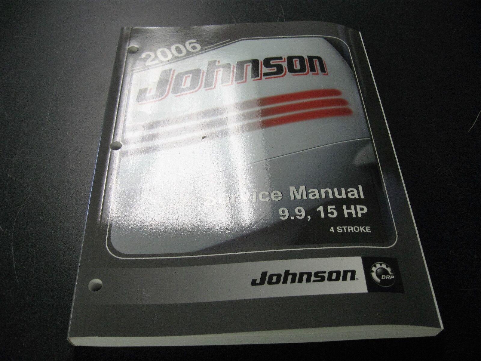 JOHNSON 2006 9.9-15HP 4STK SERVICE MANUAL 5006590
