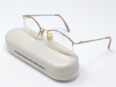 Cazal Rx Eyeglasses Mod. 1120 Gold Multi-Color Metal Half Rim 51[]19-130