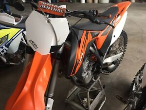 Really Nice KTM 450 SX and 2015 Timbersled Short Track
