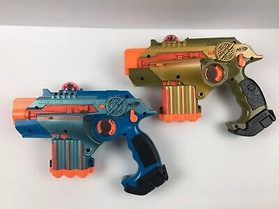 Nerf Official Lazer Tag Phoenix LTX Tagger 2 Pack Laser Tag Game No Box