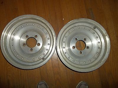 "WESTERN  WHEEL ALUMINUM  RIMS  14 X 7 "" PAIR OF TWO"