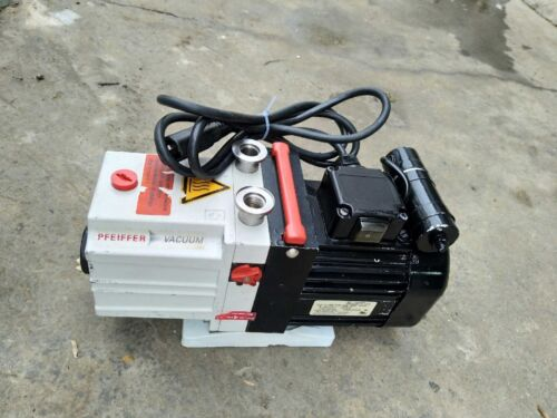 Pfeiffer Vacuum Duo 2.5 Rotary vane pump, tested working with good vacuum degree