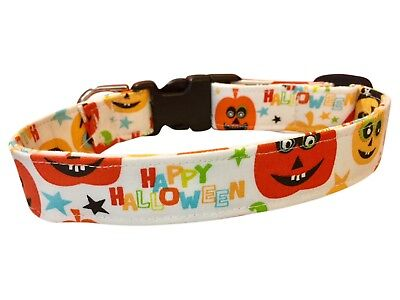 SPIFFY POOCHES Dog Clothes Collar HAPPY HALLOWEEN *BUY 1 GET 1 HALF PRICE* - Half Price Halloween