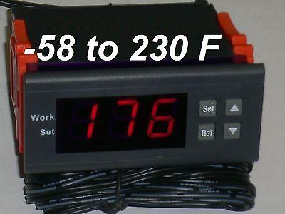 Fahrenheit Thermostat Temperature Controller Fridge Refrigerator Frigidaire Cold