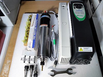 Precise Fischer Atc Auto Tool Change Hf High Speed Spindle Motor Converter