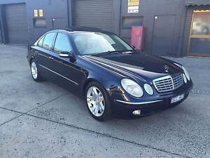 2003 Mercedes-Benz E500 Elegance Sedan V8 SUNROOF REG RWC West Footscray Maribyrnong Area Preview